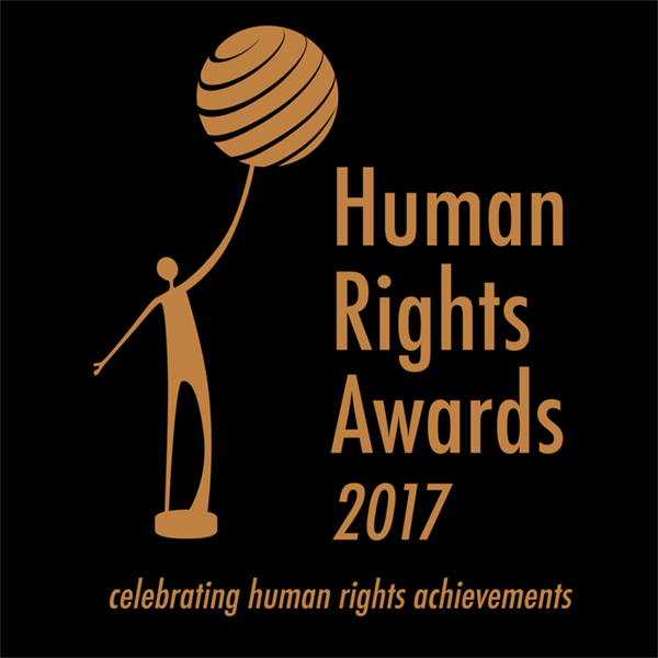 Human Rights Awards 2017 logo - celebrating human rights achivements