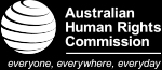 Australian Human Rights Commission Logo - everyone, everywhere, everyday